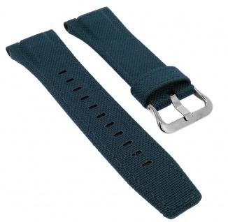 Casio G-Shock Uhrenarmband Ersatzband Textil / Leder blau GST-W330AC-2ER