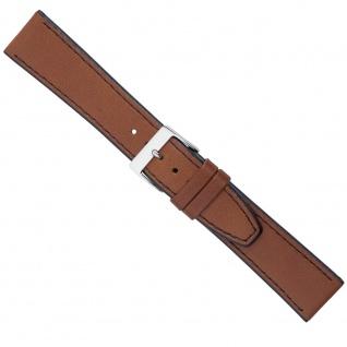 Uhrenarmband Ersatzband Leder Band Braun 26586S