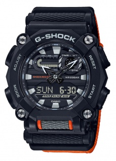 Casio G-Shock Analog /Digital Herrenuhr Resin Illuminator Stoßfest GA-900C-1A4ER