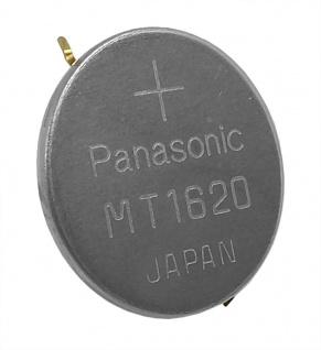 Citizen Akku Panansonic 295-6500 Knopfzelle Batterie mit Fähnchen MT1620