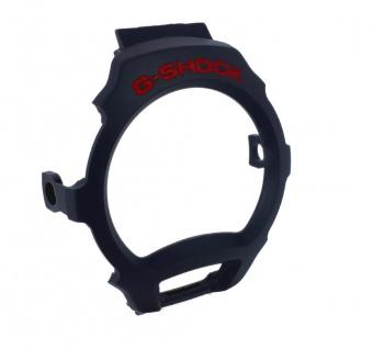 Casio G-Shock Lünette Bezel/Inner schwarz für DW-004C mit roter Schrift