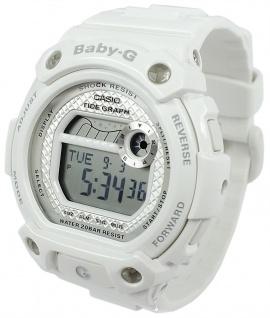 Casio Baby-G Armbanduhr weiß Resin Damen digital Yacht-Timer BLX-100-7ER