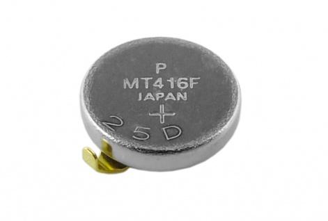 Panasonic Knopfzelle Akku / Batterie MT416F Lithium Ionen (LiIon) mit Fähnchen 32099