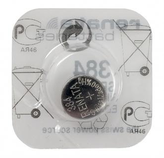 Renata 384 Silberoxyd Knopfzelle SR41SW Batterie Swiss Made 1, 55 V