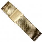 Timex Weekender Fairfield Ersatzband 18mm Milanaise Edelstahl goldfarben | TW7C07700