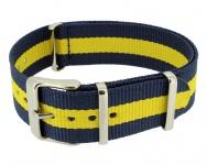 Timex Weekender Nato-Band 20mm Uhrenarmband Durchzugsband Textil mehrfarbig Band PW2P90900