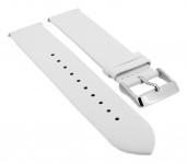Timex Weekender Fairfield 20mm | Ersatzband aus Leder in weiß | TW2R26100