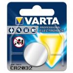 Varta Knopfzelle Batterie 3V Ersatzbatterie CR2032 Lithium für Armbanduhren 34289