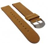 Timex Expedition | Ersatzband 20mm aus Leder in braun mit Naht | TW4B06500