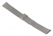 Timex Ersatzband Uhrenarmband Milanaise Edelstahl silbern 16mm für T2N679