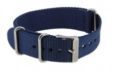 Timex Weekender Chronograph Uhrenarmband 20mm | Ersatzband aus Textil in blau TW2P71300
