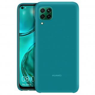 Original matte Schutzhülle für Huawei P40 Lite, Handyhülle by Huawei - Blaugrün