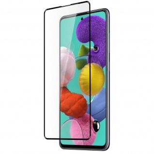 9H Bildschirmschutz, Full Protect Schutzfolie für Samsung Galaxy A51 - Imak