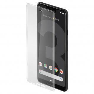Displayschutzfolie aus Glas für Google Pixel 3 XL, bruchsicher & kratzfest