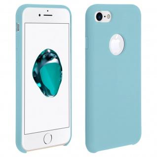 Apple iPhone 7, iPhone 8 stoßfeste Soft Touch Schutzhülle - Türkisblau - Vorschau 1