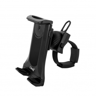 Smartphone / Tablet 360° drehbare Lenkerhalterung, LinQ ? Schwarz