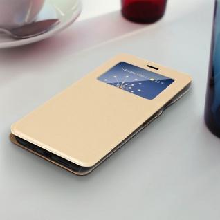 S-View Flip Cover mit Sichtfenster für Google Pixel 3A - Gold - Vorschau 3