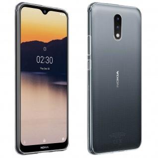 Nokia 2.3 Schutzhülle Silikon Second Skin - Transparent