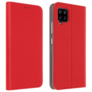 Samsung Galaxy A42 5G Flip Cover mit Standfunktion ? Rot