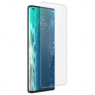 9H Härtegrad Glas-Displayschutzfolie Motorola Edge / Edge Plus ? Transparent