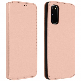 Kunstleder Cover Classic Edition Samsung Galaxy S20 - Rosa