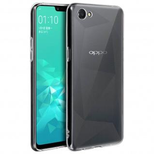 Akashi Schutzhülle mit Ultra-Clear Design für Oppo A3 - Transparent