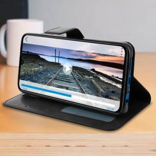 Flip Stand Cover Brieftasche & Standfunktion für Huawei P30 - Schwarz - Vorschau 4