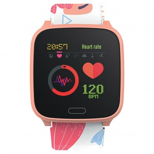 IP68 wasserdichte Kinder Smartwatch Silikon-Armband, iGO Forever ? Rosegold