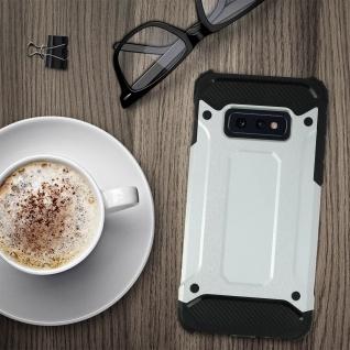 Defender II schockresistente Schutzhülle Samsung Galaxy S10e - Silber - Vorschau 3