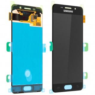 Original LCD Komplettset mit Touchscreen für Samsung Galaxy A3 2016 - Schwarz