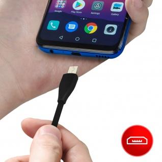 USB / Micro-USB Ladekabel / Datenkabel, Kabellänge: 1m, Ipipoo ? Schwarz - Vorschau 4