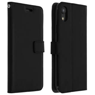 Flip Stand Cover Brieftasche & Standfunktion Apple iPhone XR - Schwarz