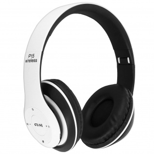 Audio Kabelloser Over-ear Kopfhörer Bluetooth 4.0/ 3.5 Klinkenstecker - Weiß