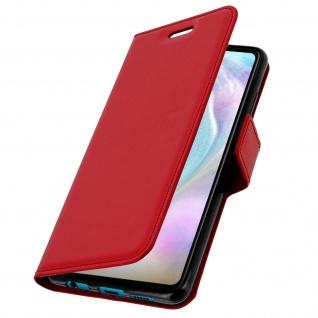 Flip Stand Cover Brieftasche & Standfunktion für Huawei P30 - Rot - Vorschau 2