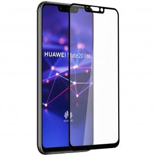 9H kratzfeste Glas-Displayschutzfolie für Huawei Mate 20 Lite - Schwarz