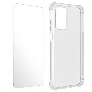 Premium Schutz-Set Xiaomi Redmi Note 10 Pro: Hülle + Schutzfolie ? Transparent