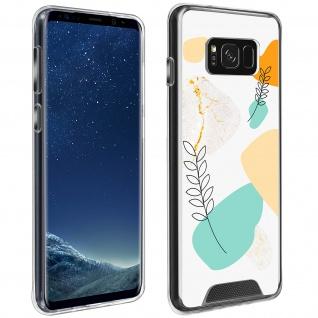 Handyhülle für Galaxy S8, Made in France ? Lorbeerblatt Design
