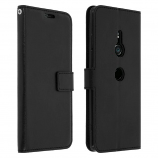 Flip Stand Cover Brieftasche & Standfunktion Sony Xperia XZ3 - Schwarz