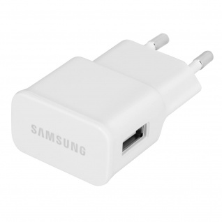 Original Samsung Wand Ladegerät für Smartphones mit Micro-USB Anschluss ? Weiß
