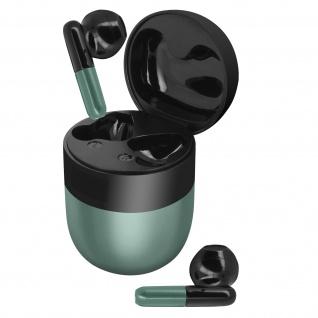 Bluetooth Sport-Kopfhörer 24 Std. Akkulaufzeit IPX5 zertifiziert ? Dunkelgrün