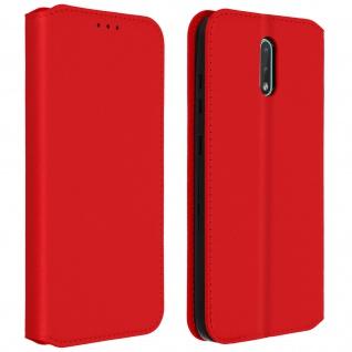 Kunstleder Cover Classic Edition Nokia 2.3 - Rot