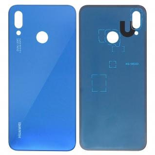 Ersatzteil Akkudeckel, neue Rückseite für Huawei P20 Lite - Dunkelblau - Vorschau 1
