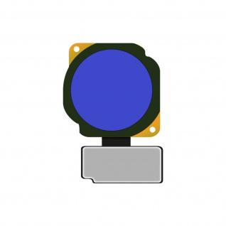 Ersatzteil Haupttaste mit Flexkabel für Honor 10 Lite ? Blau