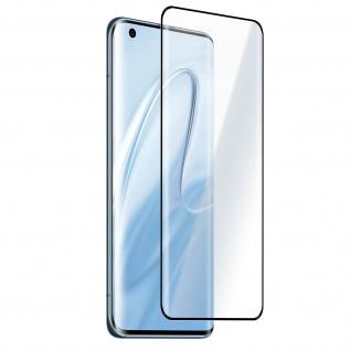 Xiaomi Mi 10 / Mi 10 Pro 9H Glas-Schutzfolie - Rand Schwarz