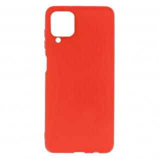 Samsung Galaxy A12 Soft Touch Silikonhülle, soft case ? Rot