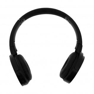 Bluetooth Audio Headset, Micro-SD Kartenslot/ 3.5mm Klinkenstecker - Blau