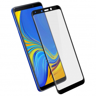 Displayschutzfolie, 9H 11D Schutzfolie für Samsung Galaxy A9 2018 Schwarz