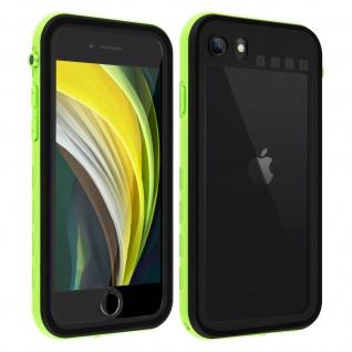 Redpepper Waterproof Handyhülle für Apple iPhone SE 2020 / 8 / 7 - Grün