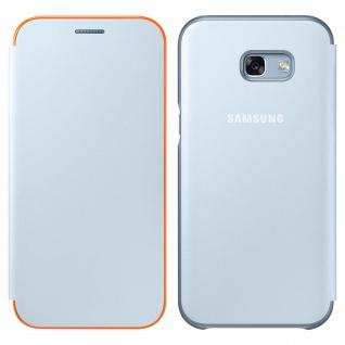 Original Samsung Neon Flip Cover für Samsung Galaxy A3 2017 - Graublau