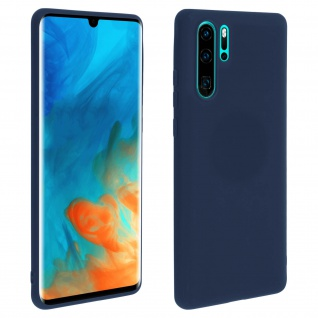 Forcell Huawei P30 Pro Soft Touch Silikonhülle, soft case - Dunkelblau